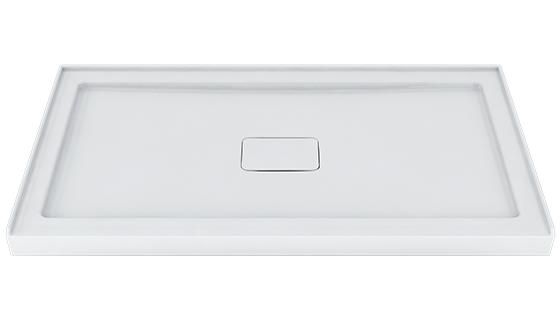 Zitta - Shower Base - Integrated tile Flange - Drain Cover