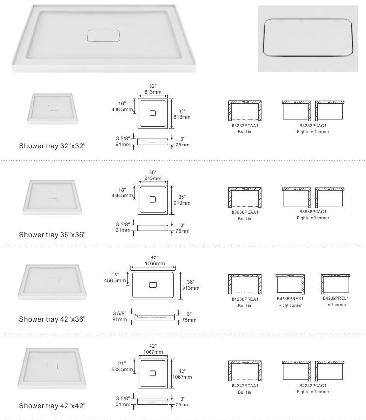 Zitta U2013 Shower Base U2013 Integrated Tile Flange U2013 Drain Cover