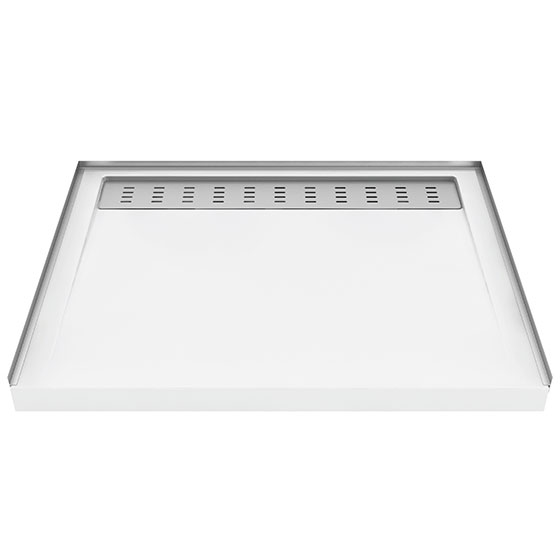 Zitta - Shower Base with Deco Drain (4 sizes)