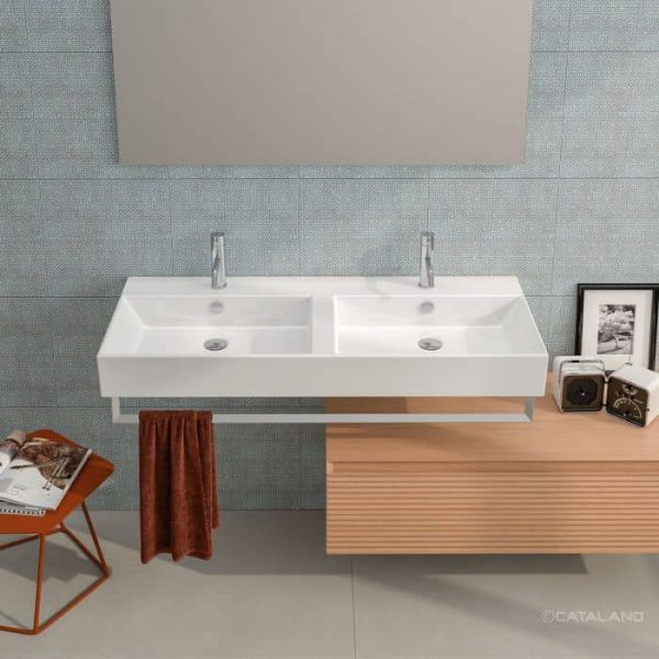 Catalano 12VPD Premium Double Washbasin