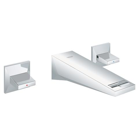 Grohe 20347000 allure brilliant 3-hole wall-mount vessel trim