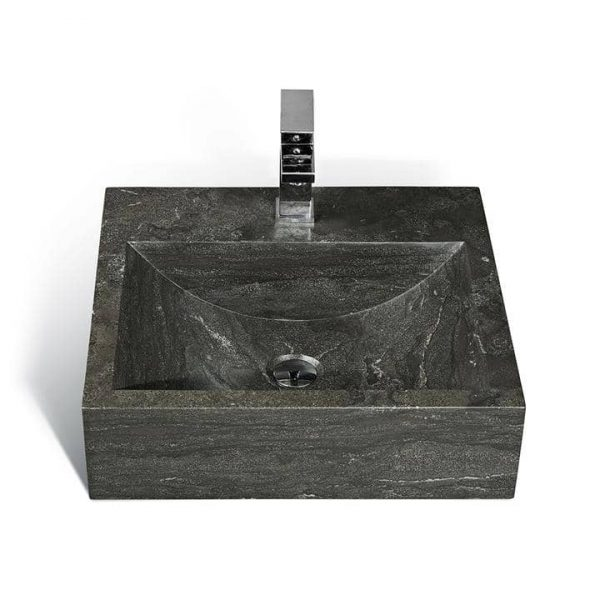 Unik Stone LPG-020 – 20 Inch Stone Sink For Small Spaces