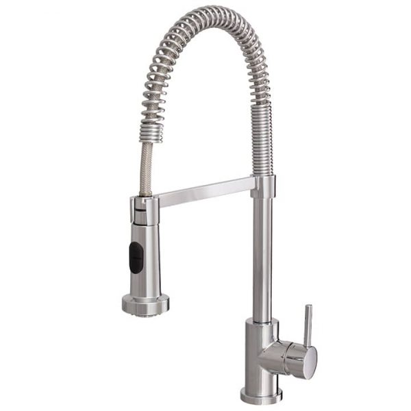 Aquabrass ABFK30045 Wizard Pull Out Dual Stream Kitchen Faucet