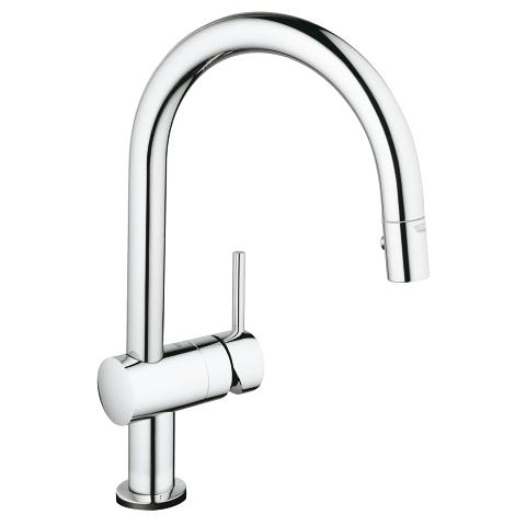 225 & Grohe Kitchen Faucet Minta Touch Single Handle 31359001/31359DC1