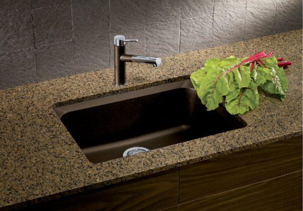 BLANCO 400492-Vision-U1 Granite composite sink in SILGRANIT