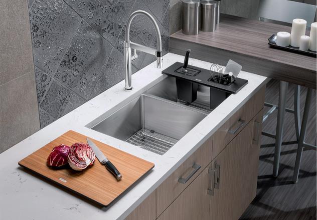 Blanco Kitchen Sink Quatrus R15 U 13 401520