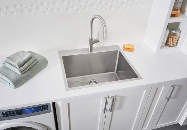 Blanco Kitchen Sink Quatrus R15 Laundry 401802