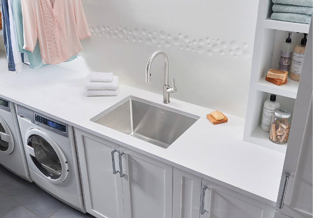 kitchen and utility sinks blanco kitchen sink quatrus r15 laundry 401802 5005