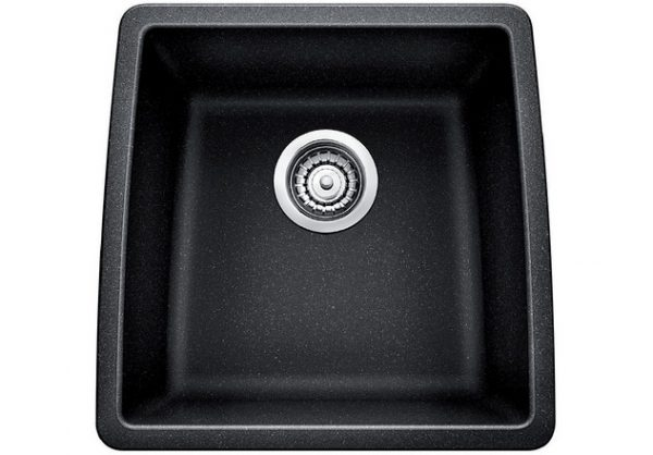 BLANCO PERFORMA U BAR - Granite composite sink in SILGRANIT