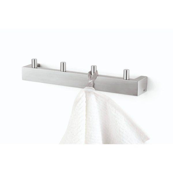 ICO Canada Z40389 LINEA Towel Hook Rail Stainless-Steel