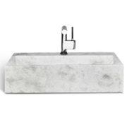 "Unik LMS-024 - 24"" Ice marble sink"