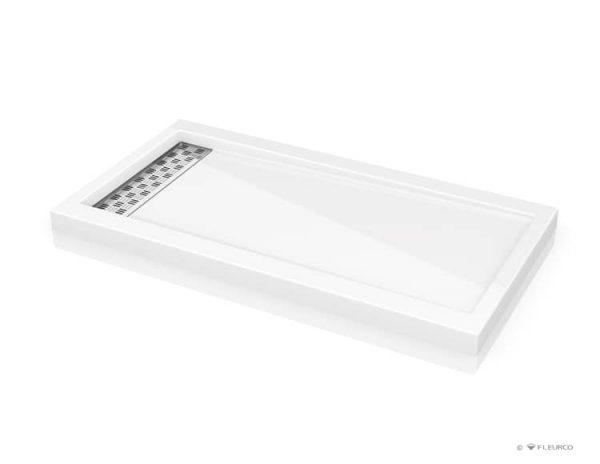 Fleurco Shower Base ABE3260 Quad linear drain cover