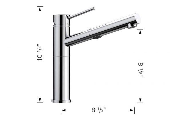Blanco 401317 Alta Faucet Chrome