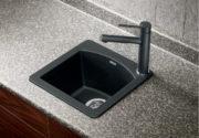 Granite composite sink in SILGRANIT