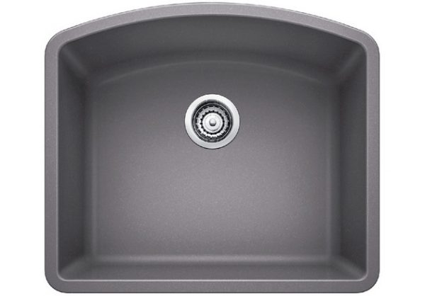 DIAMOND U 1 - Granite composite sink in SILGRANIT