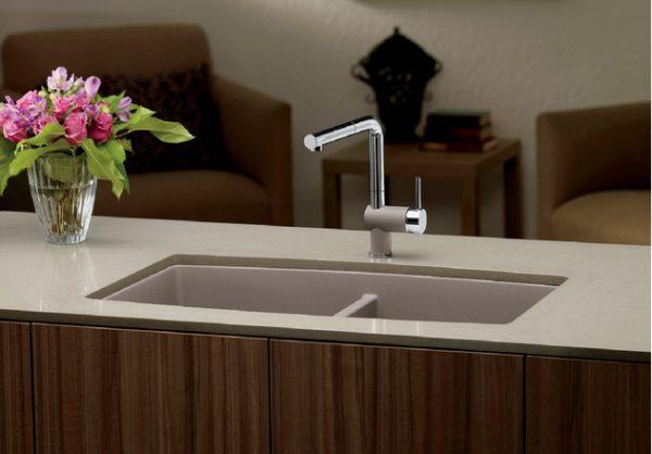 BLANCO PERFORMA U 2. Granite composite sink in SILGRANIT