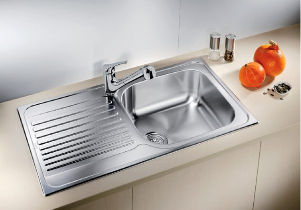 BLANCO TIPO XL 6 S with drainboard stainless steel - 400795