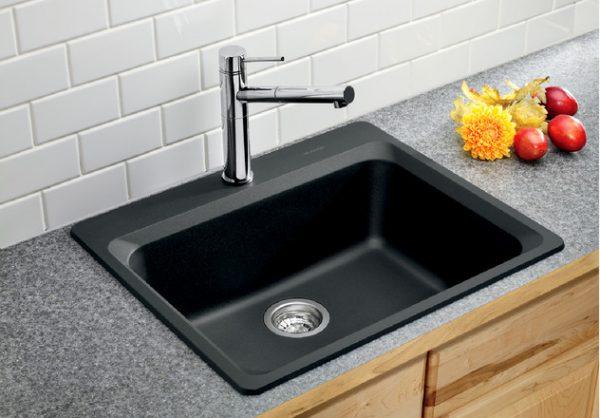 BLANCO VISION 1 - Granite composite sink in SILGRANIT