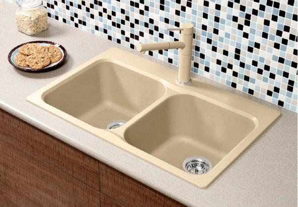 BLANCO VISION 210 - Granite composite sink in SILGRANIT