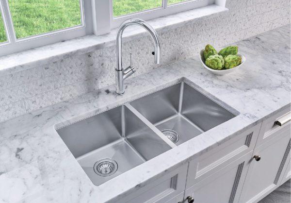 Blanco Kitchen Sink Quatrus R15 U 2 401519