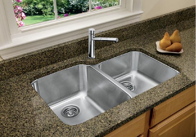 Superbe Blanco Kitchen Sink Stellar U 1 3/4 401026