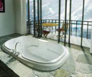 MAAX Calla 6042 Oval Bathtub