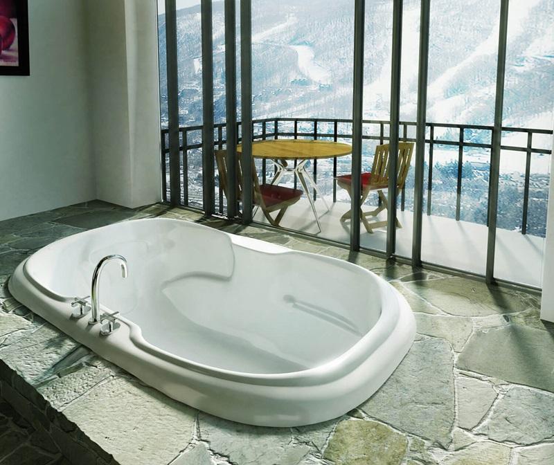 Calla 6042 Oval bathtub by Maax by online