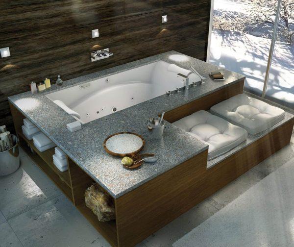 Maax Bath Tub Optik 7242 Center Drain