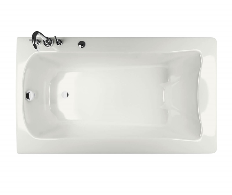 Release Rectangular bathtub by Maax by online