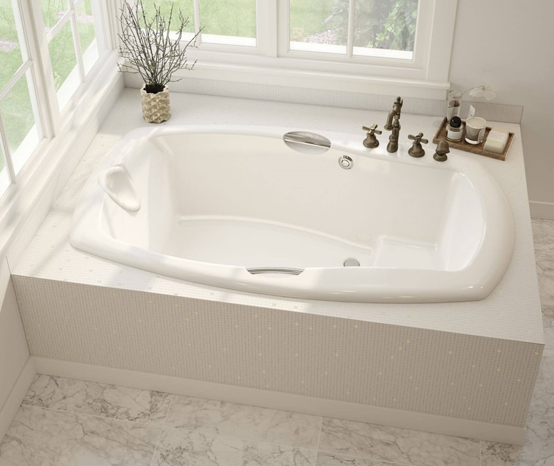 Release 6636 Rectangular bathtub by Maax by online