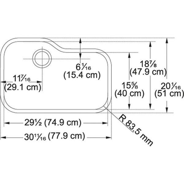 Franke Orca 2 OR2X110 Sink drawing