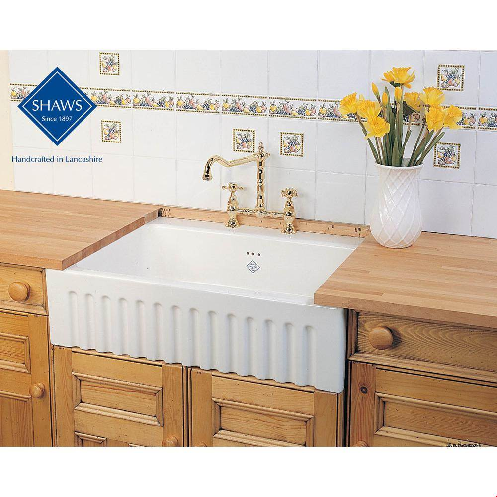Shaws Farmhouse Apron Front Shaker Sinks including Shaws Bowland BLF7934