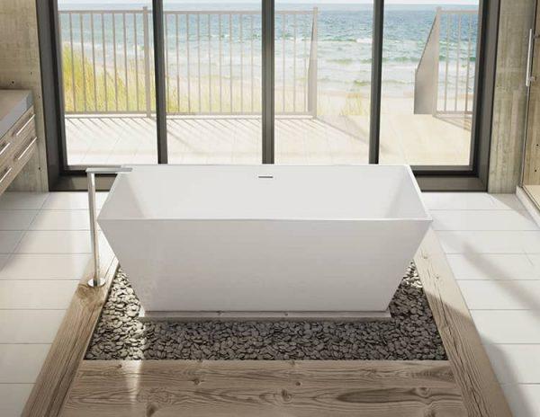 Fleurco BCA6829-18 Aria Calando Grande Bathtub