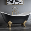 Cheviot Regency Freestanding Bathtub - With Lion Feet