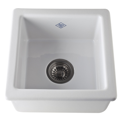 Rohl Shaw RC1515WH Undermount Bar Sink