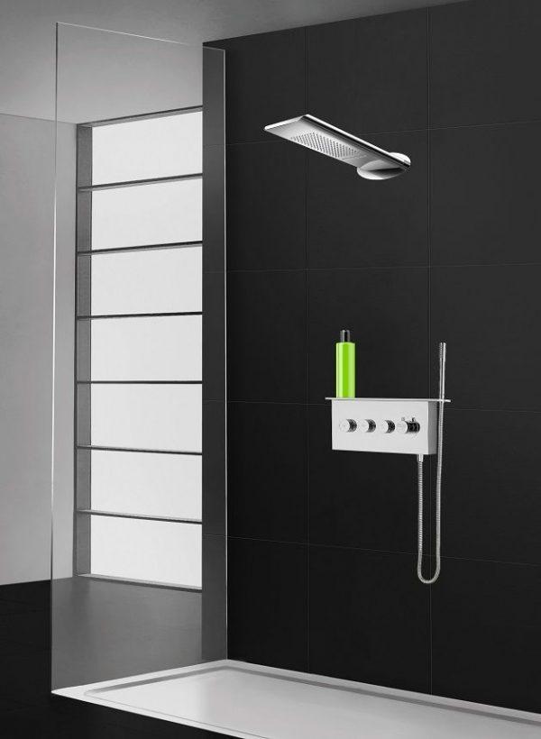 Pierdeco Design Shower Column - PD-831-RD-KIT-1- AquaMassage
