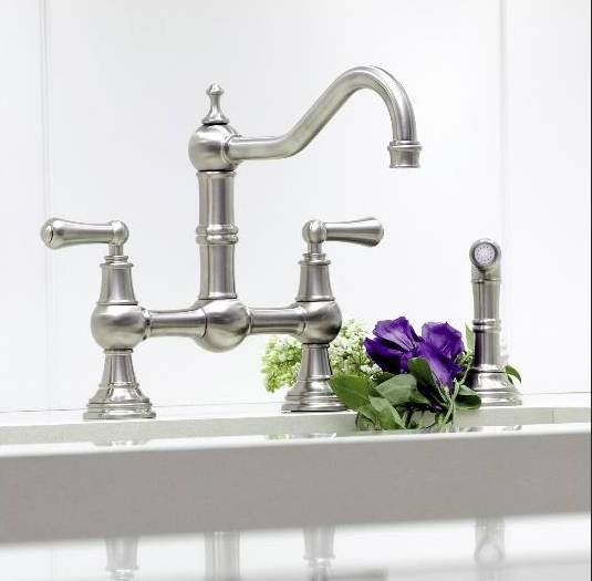 perrin and rowe kitchen faucet perrin and rowe kitchen faucet provence country bridge mixer 25445