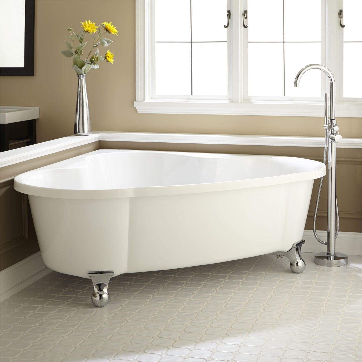 Corner Bathtubs - Bliss Bath And Kitchen