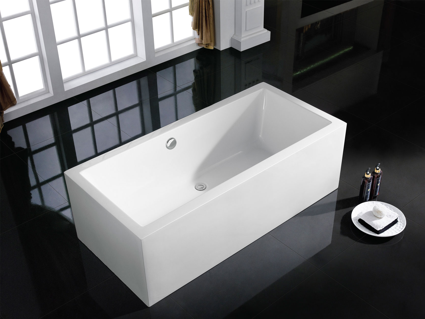 Rectangular Bathtubs USA : Blissbathandkitchen.com