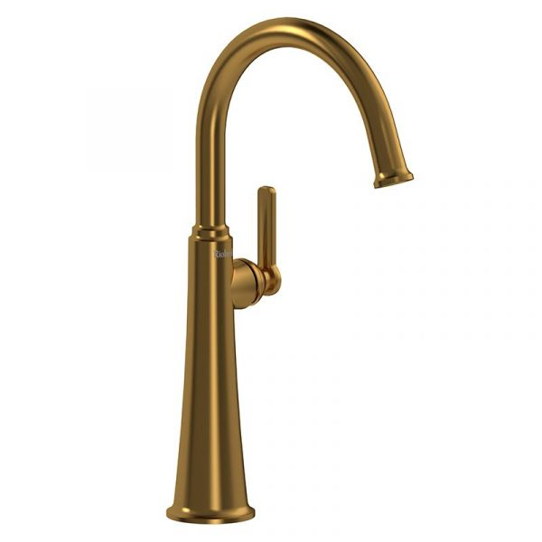 Riobel MMRDL01JBG Momenti Single Hole Lavatory Faucet