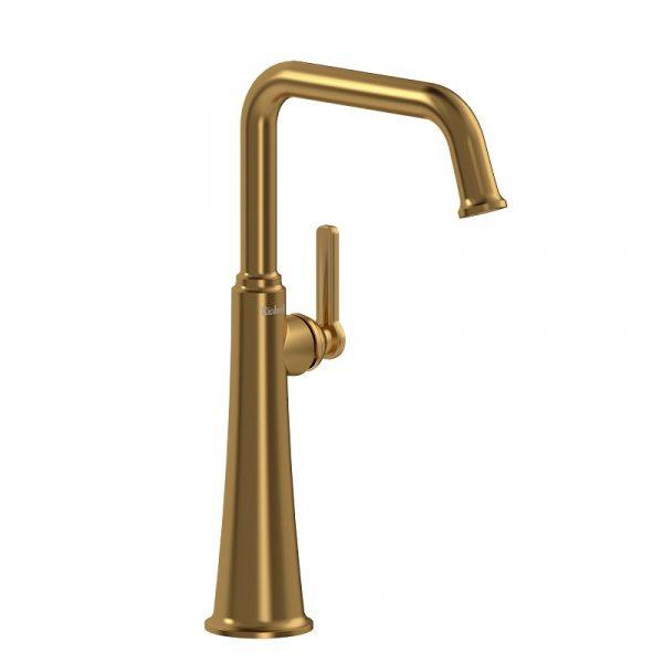 Riobel MMSQL01JBG Momenti Faucet In Brushed Gold