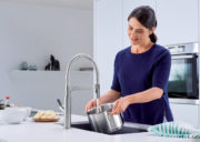 BLANCO SOLENTA Senso KITCHEN FAUCET - Stainless Finish