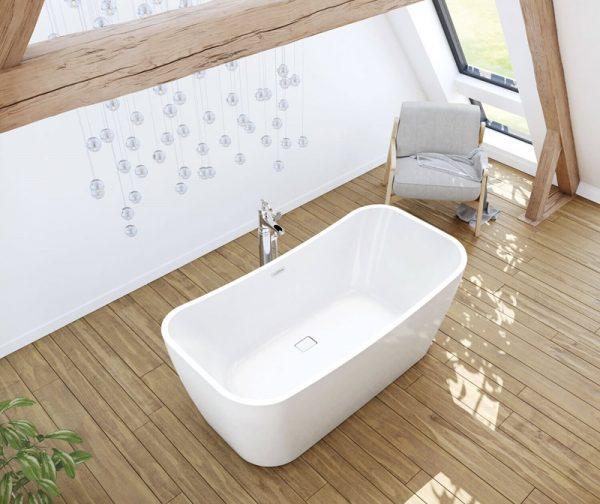 MAAX Villi Freestanding Bathtub