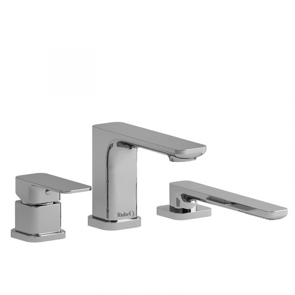 Riobel- Equinox - EQ10 3-piece deck-mount tub filler with hand shower