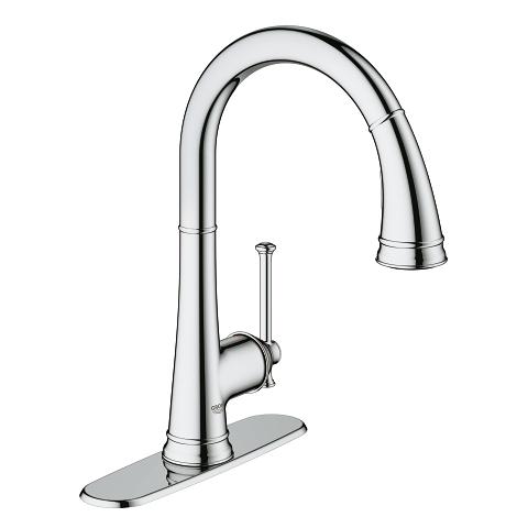 Grohe Joliette Single-Handle Kitchen Faucet 30210001 - Chrome