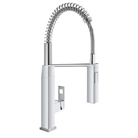 Grohe Eurocube Single-Handle Kitchen Faucet 31401000