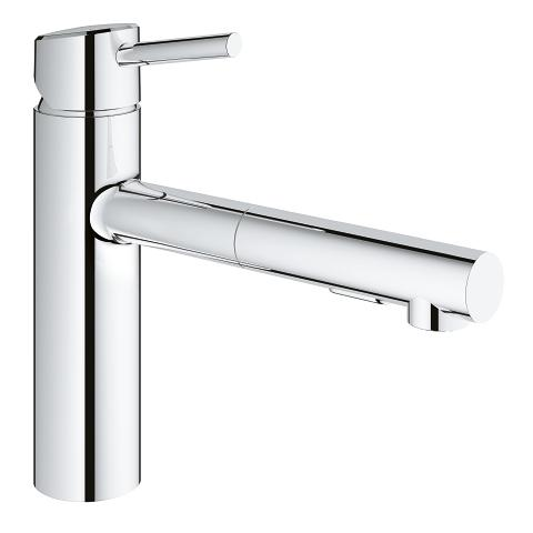 Grohe Concetto Single Handle Kitchen Faucet 31453001 31453dc1 Bliss Bath And Kitchen