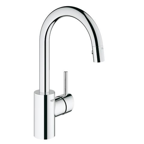 Grohe Concetto Pull-Out Dual Spray Bar Faucet 31479000 - Chrome