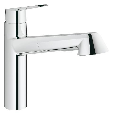 Grohe 33330002 Eurodisc Cosmopolitan Single-Handle Kitchen Faucet
