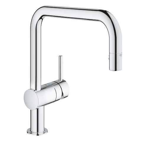 Grohe 32319000 Minta kitchen faucet with pull down spray